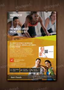 stockpsd net fitness gym health free psd flyer