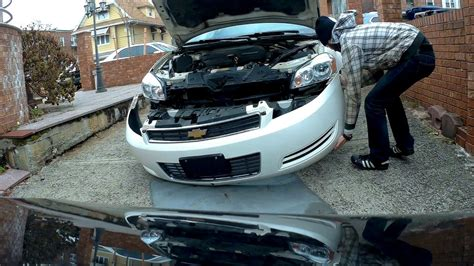 2003 chevy impala front bumper how to remove and install front bumper chevrolet impala