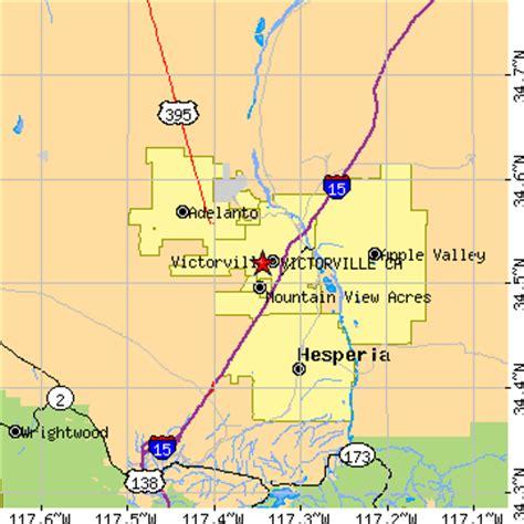 zip code map victorville ca victorville california ca population data races