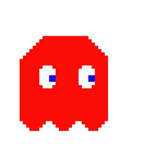 pac man ghost   Pixel Art Maker