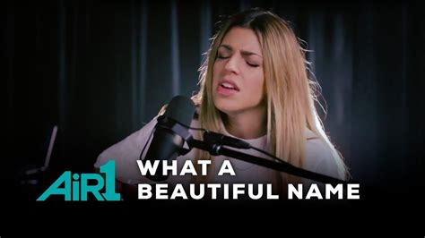 what a beautiful name hillsong worship quot what a beautiful name quot live at air1