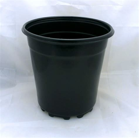 lot of 25 1 gallon plastic nursery plant pot container