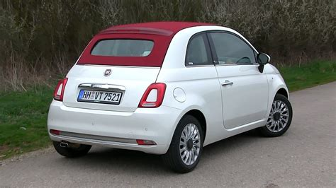 Fiat 500 Test Drive by 2016 Fiat 500 C 1 2 8v 69 Hp Test Drive By Test Drive
