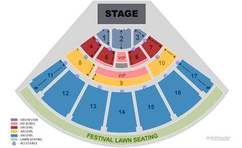 Toyota Center Floor Plan by Midflorida Credit Union Amphitheatre Tampa Fl Seating