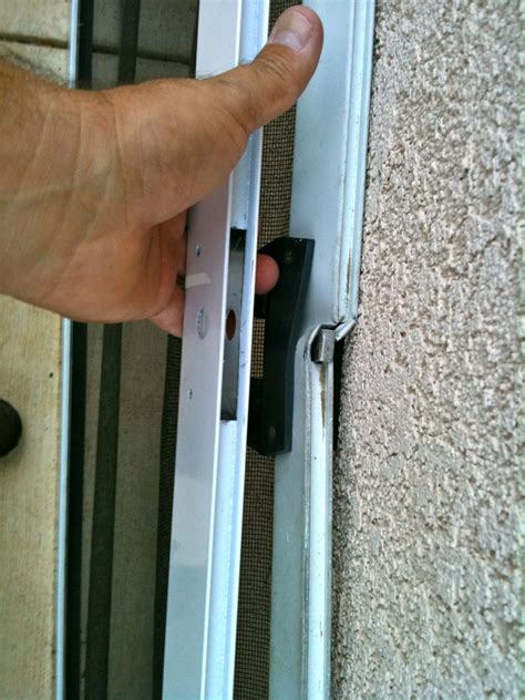 Repair Screen Door by Time To Replace Sliding Screen Door In Thousand Oaks