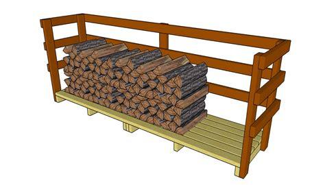 Firewood Rack Plans Free by Firewood Rack Plans Myoutdoorplans Free Woodworking