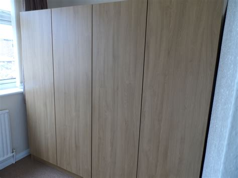 built in wardrobes in lancaster oak diy