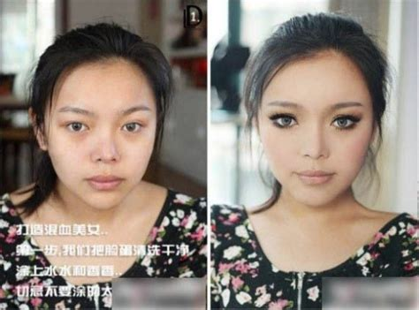 a bunch of with and without makeup