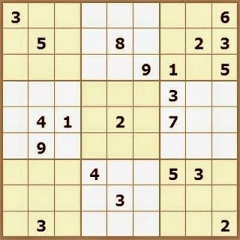printable sudoku board 10 best images about sudoku puzzle on pinterest brain
