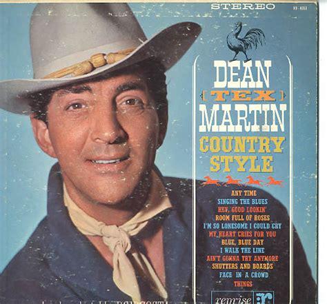 herberts oldiesammlung secondhand lps dean martin - Dean Martin Country Style