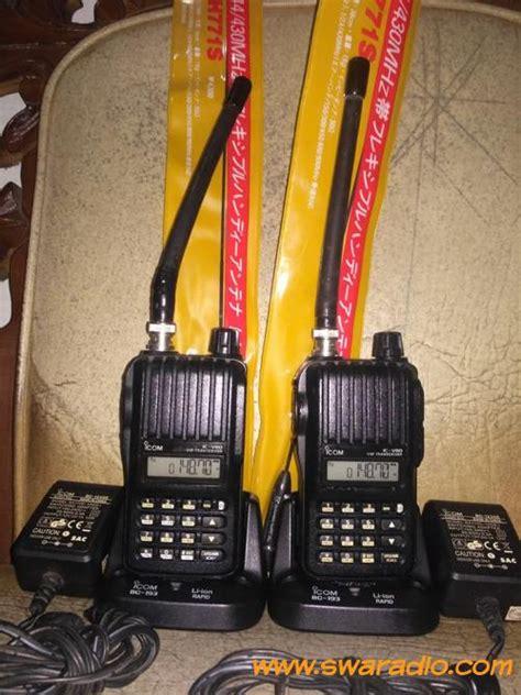 Antena Ht Smp 468 Vhf dijual 2unit ht icom ic v80 vhf kondisi tx rx normal