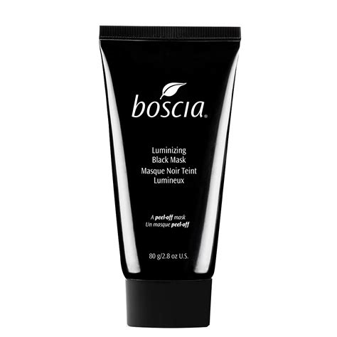 Masker Boscia boscia luminizing black charcoal mask