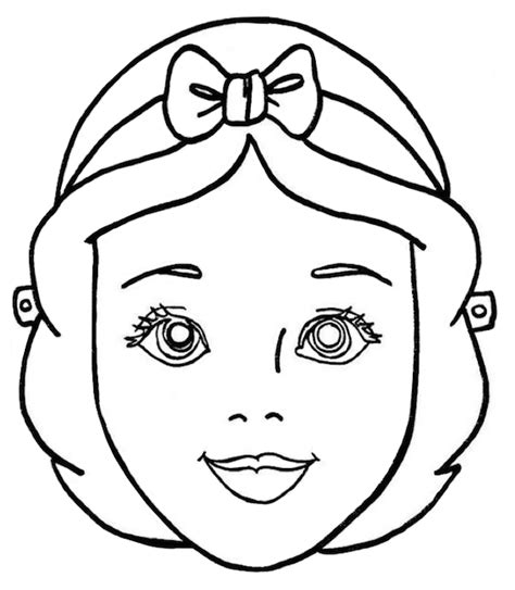 printable halloween masks for coloring princess clipart mask pencil and in color princess