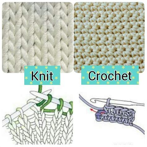 what is the difference between knitting and crochet knit vs crochet comment below which one you like more