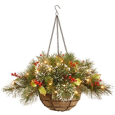 hanging baskets with lights beautiful hanging baskets with led lights