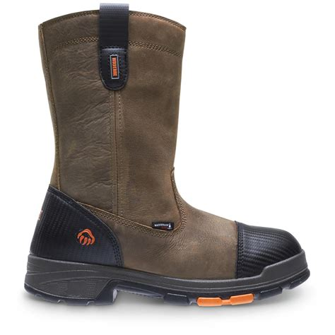comfortable boots for work wolverine comfortable work boot sportsman s guide