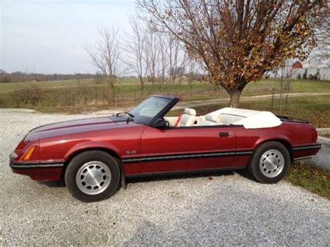 3 8 l mustang 3rd 1984 ford mustang glx convertible 3 8l v8 for sale