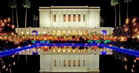 christmas lights display at mesa temple begins nov 28
