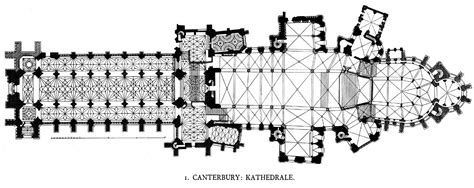 Church Floor Plan Designs by Medieval Canterbury