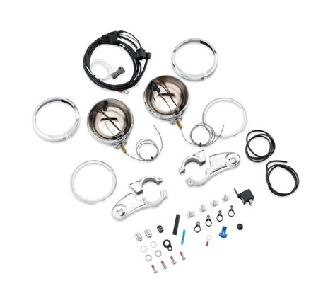 harley davidson auxiliary lighting kit 69284 05 auxiliary lighting kit at thunderbike shop