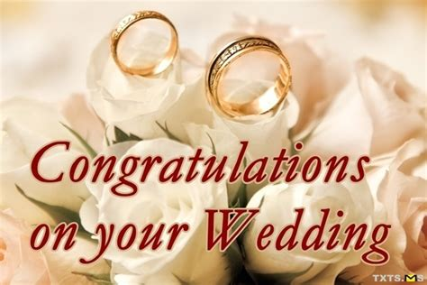Wedding Wishes Congratulations by Congratulations Wishes For Marriage Quotes Messages