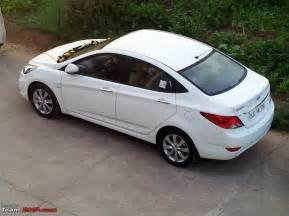 Hyundai Verna Fluidic Hyundai Verna White 2012