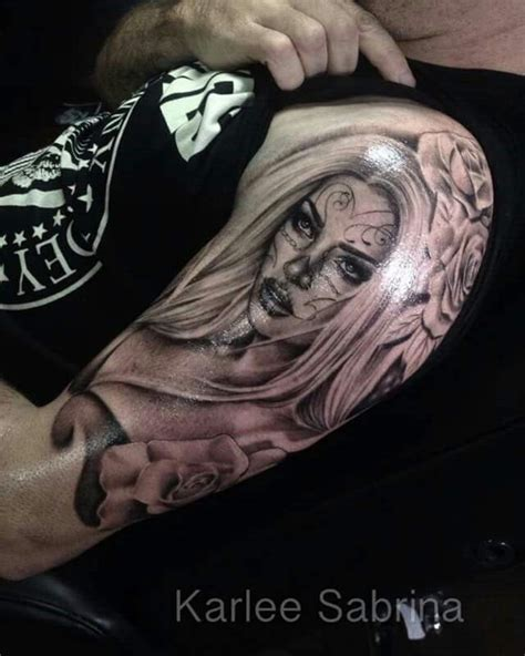zlatan ibrahimovic tattoo schulter pin von zlatan hamersak auf la catrina tattoos pinterest