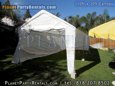 10ft x 30ft tent rentals canopy tables chairs