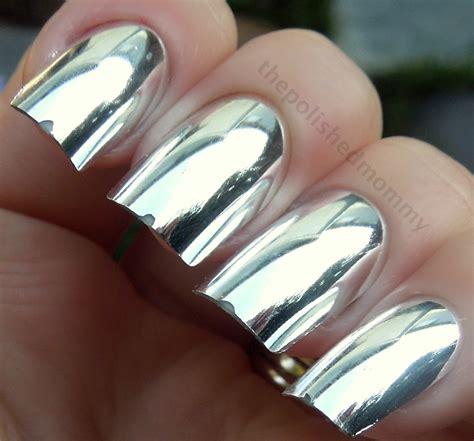 Metallic Nail Polishes by Chrome Metallic Nail Images