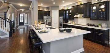Open Kitchen Floor Plans With Islands 6 Gorgeous Open Floor Plan Homes Room Bath