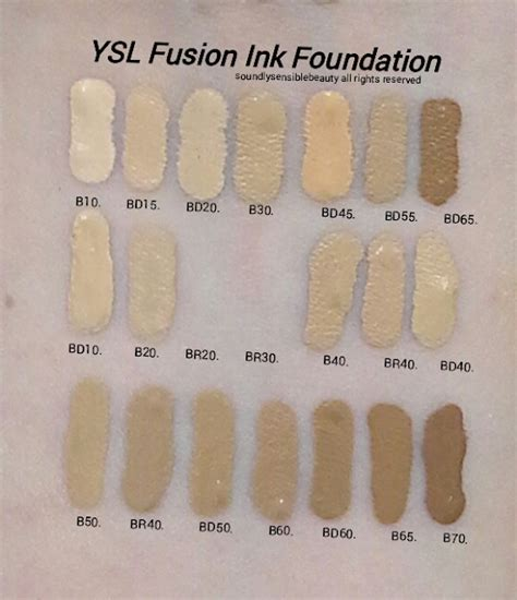 Ysl All Hours Matte Foundation Bd45 Warm Bisque picking the right shade beautytalk