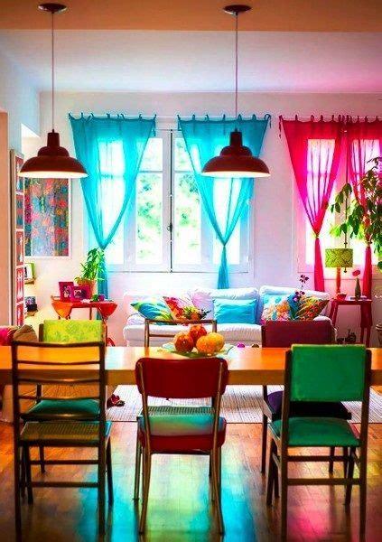 casa colorida buscar  google casa cortinas de