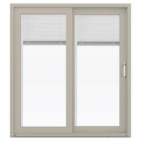 Shop JELD WEN V 4500 71.5 in x 79.5 in Blinds Between the