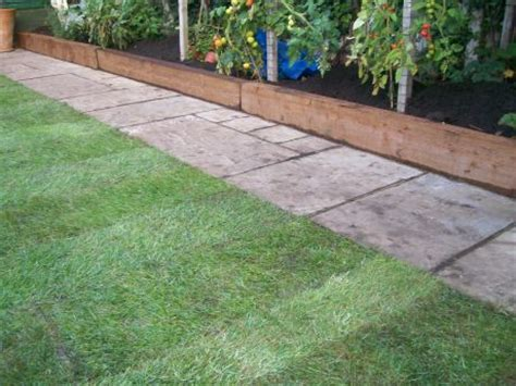 Sleeper Garden Edge by Edging For Paving Projects Coastal Paving