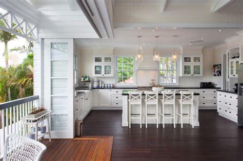 Brisbane Kitchen Designers Hampton Style Interior Design Beach Style Kitchen