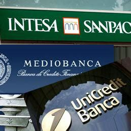 banche italiane a londra quanto valgono le banche italiane 85 societ 224 da sole