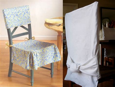 simple diy dining room chair slipcovers ideas decolover net