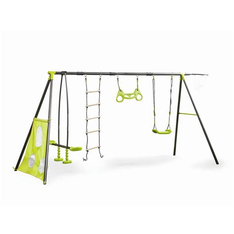 swing sets target australia swing slide climb 6 function swing set bunnings warehouse