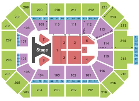 allstate arena seating pictures faith hill allstate arena tickets faith hill august 31