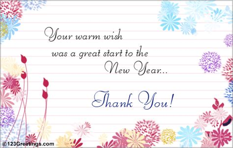 thank you for the wish free thank you ecards greeting