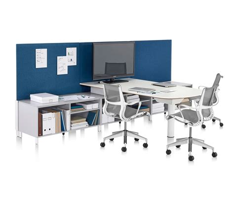 Office Desking Systems Canvas Office Landscape Desking Systems From Herman Miller Architonic