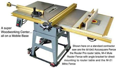 Project Working Idea Outfeed Table Plans Contractor Saw
