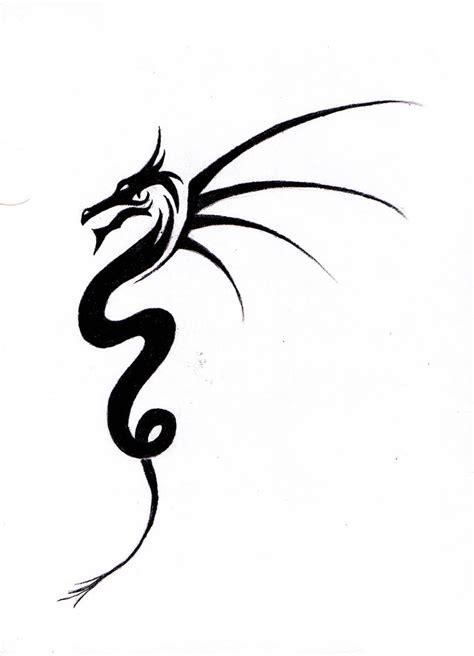 easy dragon tattoo designs simple designs for www imgkid