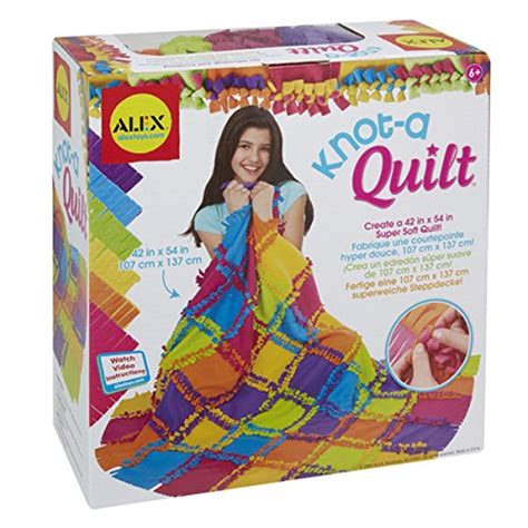 Www Alextoys Knot A Quilt by Alex Toys Craft Knot A Quilt Kit In The Uae See Prices