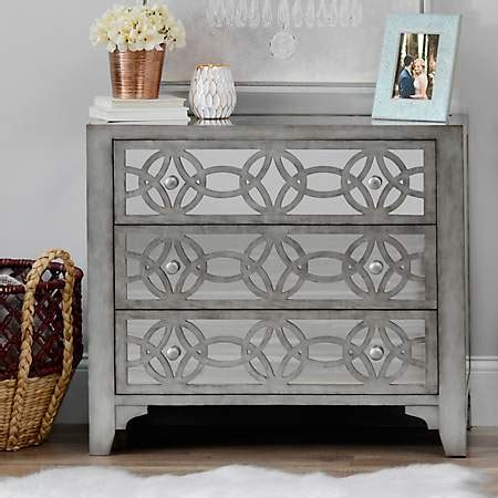 kirklands mirrored 3 drawer chest libby silver mirrored 3 drawer chest kirklands