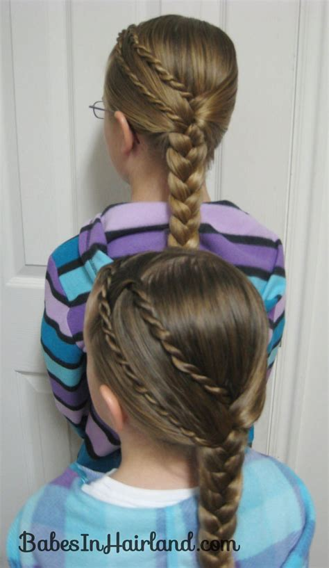 ducky braids rope braids to a braid babes in hairland