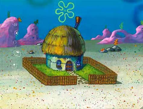 layout of spongebob s house spongebuddy mania spongebob locations grandma s house