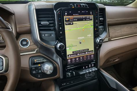 2019 dodge touch screen 2019 ram 1500 comes standard with hybrid technology