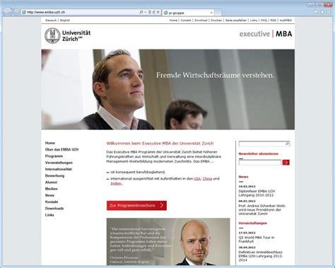 Executive Mba Switzerland by Neue Website F 252 R Das Management Morgen Y R