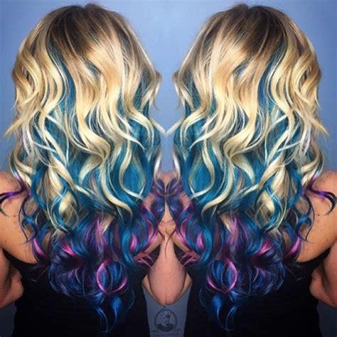 mermaid colored hair best 25 mermaid hair colors ideas on unicorn